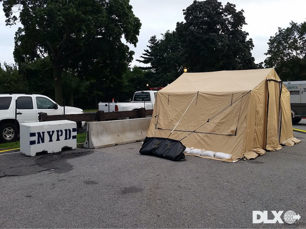 DLX ASAP Rapid Shelter Tent NYPD