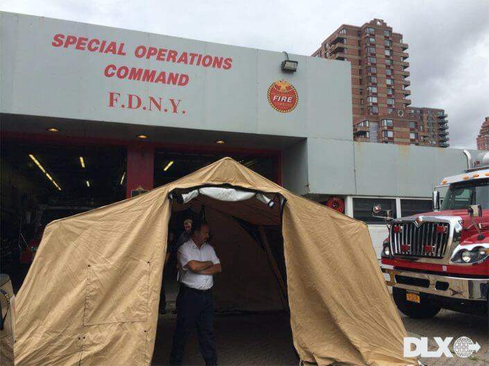 DLX ASAP Rapid Shelter Tent - FDNY