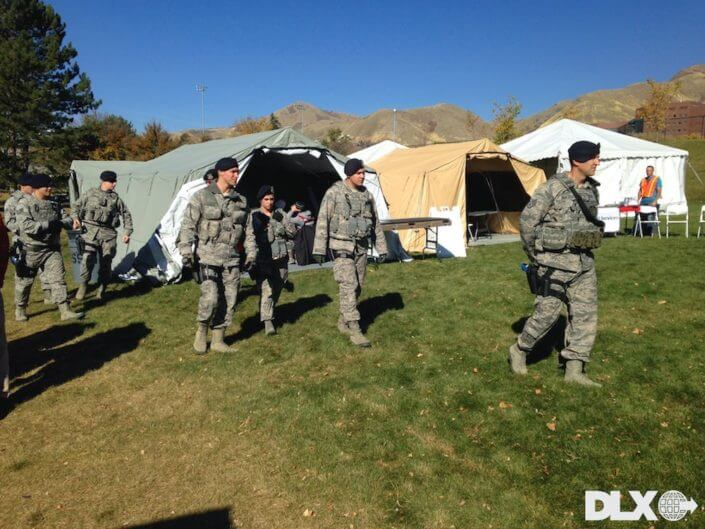 DLX ASAP Rapid Shelter Tent  - National Guard Military