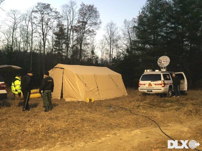 DLX ASAP Rapid Shelter Tent  - Communications Shelter