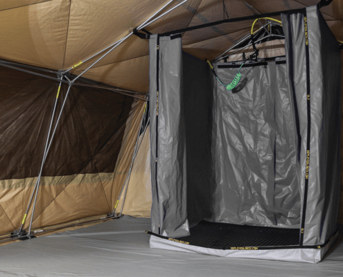 Toilet Shower And Decon Deployed Logix