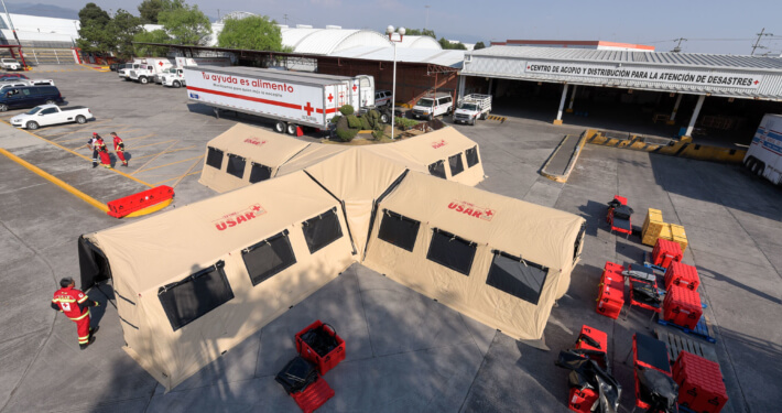 ASAP-Hub Rapid Deployment Shelter